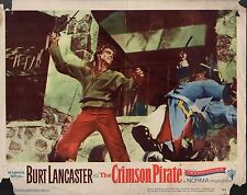 "Burt Lancaster The Crimson Pirate Original 11x14"" Lobby Card #M3370"