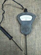 Antique Industrial Evershed&Vignoles Electric Volt Meter - Cast Iron - Steampunk