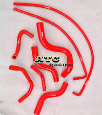 Red Silicone radiator hose for HOLDEN COMMODORE VZ 3.6L V6 2004 2005 2006
