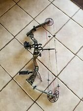 Bowtech Justice Vft compound bow. Trophy ridge smart pin sight and includes case