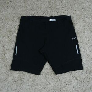 Nike DriFit Compression Shorts Womens Size L Black Yoga Running Gym Training