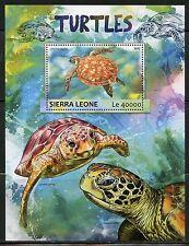 SIERRA LEONE 2017 TURTLES  SOUVENIR SHEET MINT NH