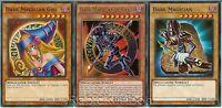 Yugioh Dark Magician of Chaos + Dark Magician + Dark Magicia Girl - Lot Set