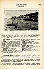 14 Luc-sur-Mer 1927 photo + guide (2 p.) casino cinéma Hôtel Petit-Enfer plage