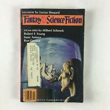 April Fantasy & Science Fiction MagazineRobert F.Young RonGoulart HilbertSchenck