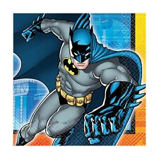 "16 DC Batman Comic Birthday Party 6.5"" Paper Lunch Napkins"