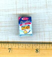 DOLLHOUSE Miniatures Size Noodle Pasta Mini Wheels Box