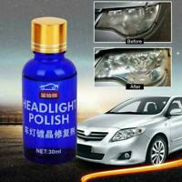 Mighty Headlight Cleaner High Density Headlight Polish Liquid Restoration DE RR