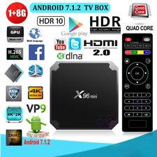 2017 Android 7.1 TV Box X96Mini S905W Quad Core 1G 8G Media Player HDR VP9 H.265