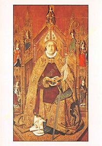 CP ART TABLEAU BARTOLOME BERMEJO Saint Dominique de Silos abbé