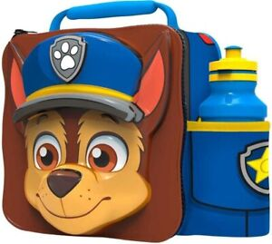 3D Paw Patrol Lunch Bag with Bottle