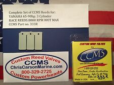 CCMS Yamaha Racing Outboard Reed Reeds 65-90hp 3 Cylinder PN333R