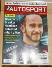 Autosport magazine 13th May 2021 F1 How Lewis defeated Max + Formula E Monaco