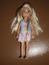 "Mattel Barbie Chelsea Doll in Ice Cream print dress, 5.5"""