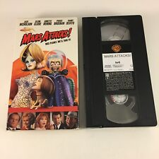 New ListingTested Mars Attacks! (Vhs, 1997) Jack Nicholson Glenn Close SciFi Cult Classic