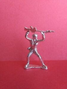 Pure Silver Handmade United States Military Gift Soldier Army Man Collectible