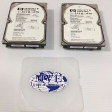HP 9N9001-032 ST318404LC  18.2GB 10K SCSI HARD DRIVE LOT OF 2