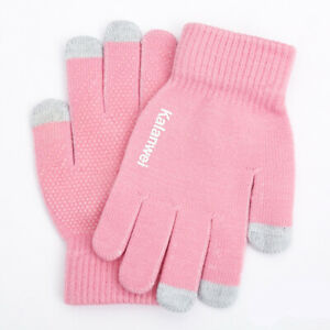 1Pairs Gloves Winter Warm Men Women Glove Touch Screen Driving Thermal Windproof