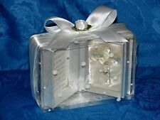 First Holy Communion gift prayer box  with Crystal glass Cross ideal keepsake #8