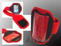 Outdoor Gym Running Sport Armband Case Cover for Apple iPhone 3/3GS/4/4S/5 RED