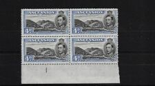 ASCENSION SG42C, 4d BLACK & ULTRAMARINE MNH BLOCK