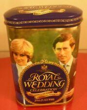 ROYAL WEDDING 1981:SHARPS TOFFEE SOUVENIR TIN: PRINCE CHARLES & LADY DIANA: MINT