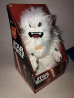 "Original Star Wars Hoth Wampa 8"" Talking Plush in Box - New Old Stock"
