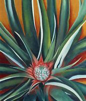 Georgia O'Keeffe : Pineapple Bud : 1939 : Archival Quality Art Print
