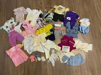 Lot Of 50+ Vtg 1983  Rare 🔥Coleco Cabbage Patch Kids Clothing Sets &Accessories