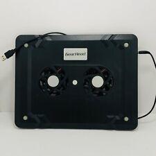Chrome/Notebook/Ipad Gear Head Dual-Cool cooling fan USB powered