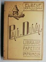 Rare Livre Ancien La Tulipe Noire Alexandre dumas édition deux trois Bernardin