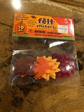 Darice Felt Thanksgiving Stickers 10pcs