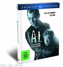 A.I. KÜNSTLICHE INTELLIGENZ (Blu-ray Disc, Premium Collection, Digibook) NEU+OVP