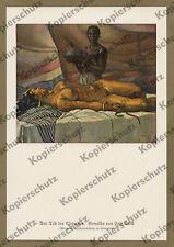 Fritz Skell Kleopatra nackt Tod Akt Erotik Antike Ägypten München Malerei 1925