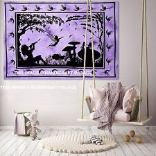 Indian Cotton Fairy Dorm Tapestry Angel Wall Hanging Hippie Tapestries Decor