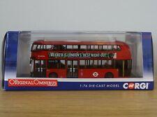 CORGI OOC ARRIVA LONDON NEW ROUTEMASTER WRIGHT BUS MODEL OM46604 1:76 #0001