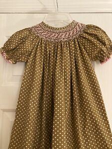 Candyland Smocked Dress Size 4T