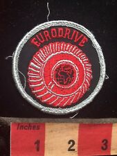 Eurodrive Patch - I Think That's A Map Of Africa Outline In The Center 78A1