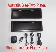 Australia Chile Brazil Stealth Hidden Away Remote Control License plate frames