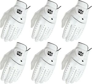 Wilson Staff FG Tour Pure Feel 6 Leather Gloves Men XL Regular Worn Left Hand