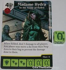 MADAME HYDRA: IN THE NAME OF HYDRA 102 Deadpool Dice Masters Rare