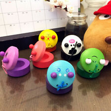 1Pc Classical Animal Shape Wooden Castanet Toy Musical Instrument Kids Gift