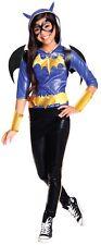 Child BAT GIRL DELUXE Superhero Girls DC Comic Halloween Fancy Dress Costume Kid