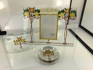 Golden Wedding Glass Set