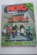 MOTO JOURNAL 389 Essai Test SUZUKI RG 500 Usine Michel ROUGERIE BULTACO 125 250