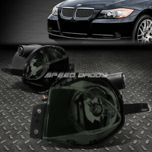FOR 2006 BMW 325I 330I 07-08 328I SMOKED LENS BUMPER FOG LIGHT LAMPS W/SWITCH
