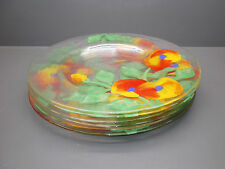 6 Platzteller von Eisch - Handbemalt - 34 cm