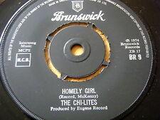 """THE CHI-LITES - HOMELY GIRL  7"""" VINYL"""