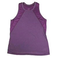 The North Face Tank Top womens M Purple Flashdry Active Outdoor Sleeveless Shirt