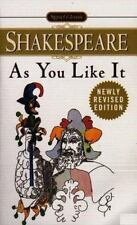 Shakespeare, Signet Classic: As You Like It by William Shakespeare (1998, Pa B13